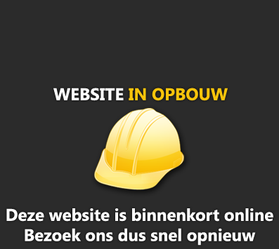 Website in opbouw